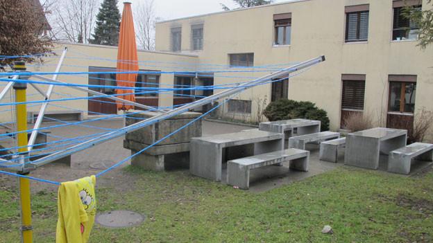 Der Kanton Aargau sucht geräumige Unterkünfte für Asylsuchende. Im Bild das Erstaufnahmezentrum Torfeld in Buchs.