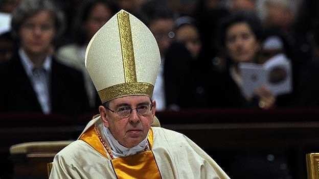 Kardinal Kurt Koch, hier während einer feierlichen Messe im Petersdom in Rom, wird kaum neuer Papst, sagte Religionsexpertin Antonia Moser.