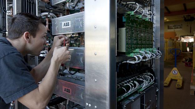 Der Aargauer Industriesektor rechnet damit, dass es aufwärts geht.