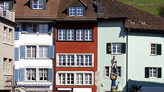 Metzgplatz in Lenzburg.