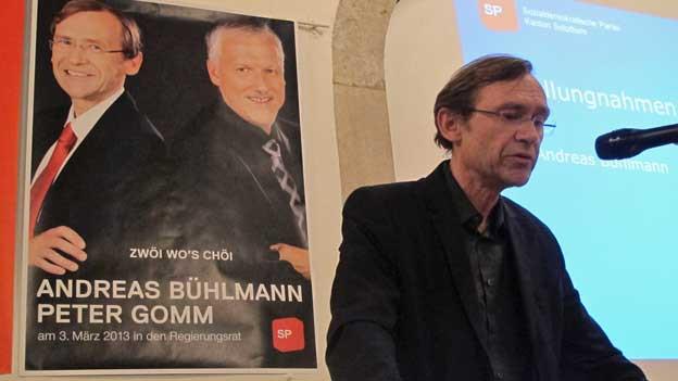 Andreas Bühlmann hat am Montagabend seine Kandidatur schweren Herzens zurückgezogen.