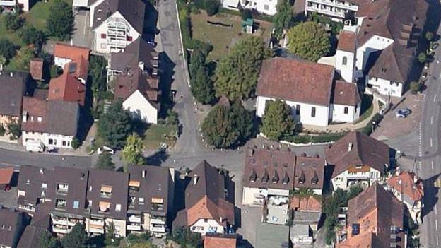 Die Dornacher Gemeindeversammlung entscheidet über einen Otto Stich-Platz auf der Kreuzung Josefengasse/Unterdorfstrasse.