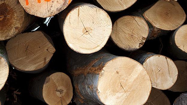 Buchenholz ist nicht mehr gefragt.