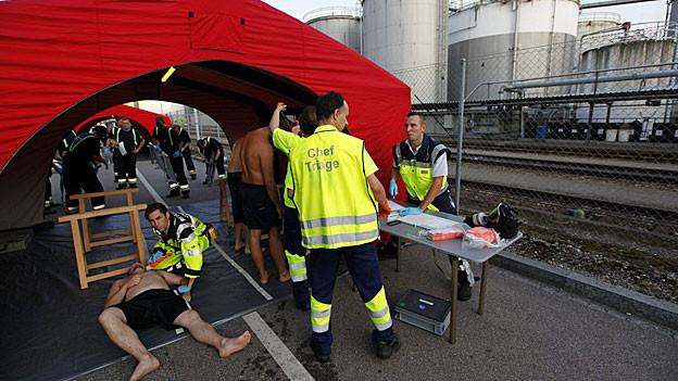 An der grossen Truppenvollübung «Soletta» beteiligen sich neben der Armee auch Polizei, Feuerwehr und Zivilschutz.