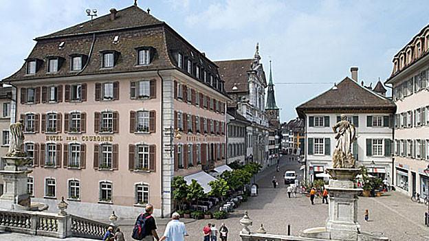 Die «Krone» in Solothurn.