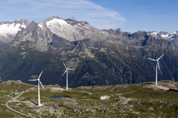 Wie auf dem Andermatter Stöckli sollen auch im Aargau an jedem Standort «in der Regel» mindestens drei Windräder stehen.