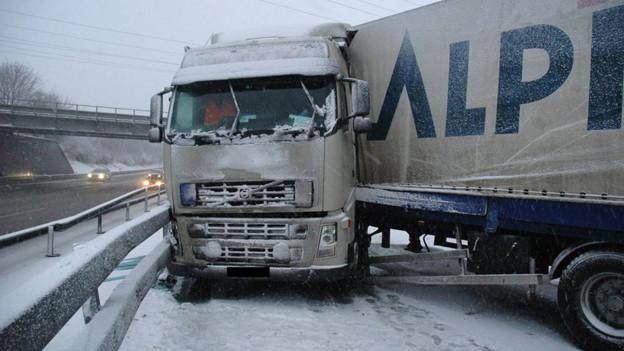 Besonders bei winterlichen Strassenverhältnissen kam es im Kanton Solothurn 2012 zu Verkehrsunfällen.
