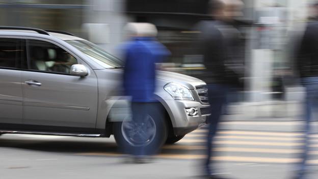 2012 kam es im Aargau 119 Fussgängerunfällen. 11 Fussgänger starben, drei auf einem Fussgängerstreifen.