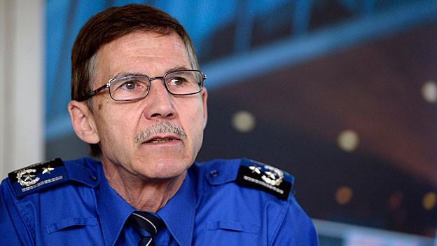 Die Kantonspolizei Aargau konnte alle zehn Tötungsdelikte aufklären im 2013. Die Einbruchszahlen sind stabil.