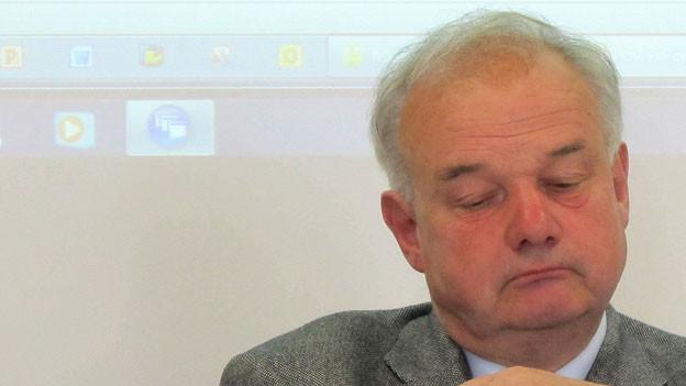 Christian Wanner: «Als Finanzdirektor rennt man immer wieder an.»