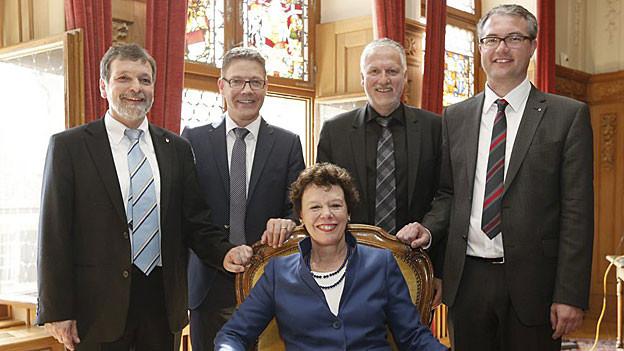 Die neue Solothurner Regierung entscheidet am 29. April, wer welche Aufgaben übernimmt.