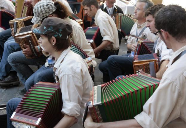 Das Eidgenössiche Volksmusikfest 2015 in Aarau