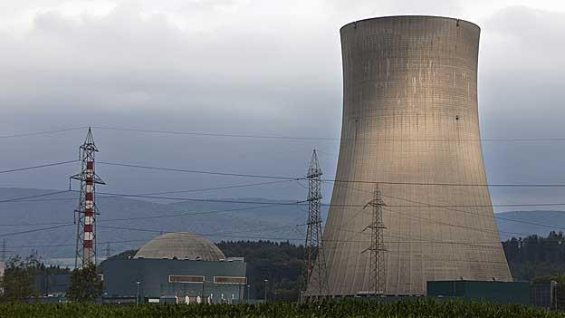 Das AKW Gösgen steht bereits in Däniken. Nun soll auch der Eingang zum Atomendlager - wenn überhaupt - hier zu stehen kommen.