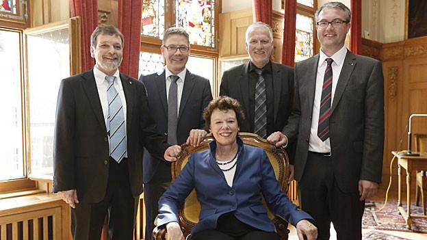 Die neue Solothurner Regierung konnte sich ohne Streit auf die neue Departementsverteilung einigen.