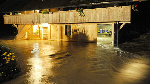 Bei den Unwettern am vergangenen Mittwoch und Donnerstag entstanden im Aargau Schäden von rund vier Millionen Franken.