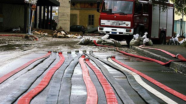 1 Million Franken Schaden hat das Unwetter letzte Woche im Aargau verursacht. Immer noch wird aufgeräumt in der Region.