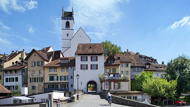 Die finanziellen Aussichten für Aarau sind düster, so der Stadtrat. Nun ist eine Steuererhöhung wieder Thema.