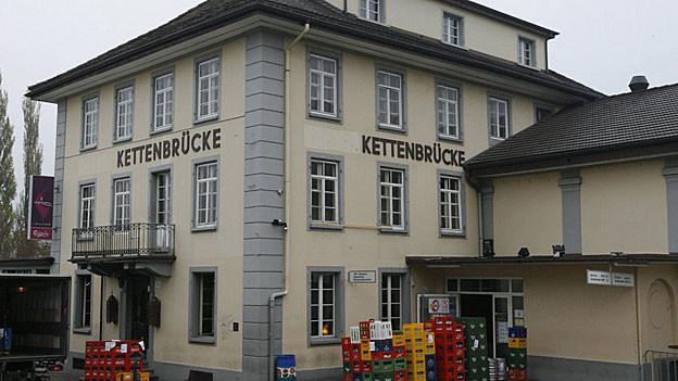Vor der Aarauer Disco Kettenbrücke kam es im Juli 2007 zur folgenschweren Schlägerei.