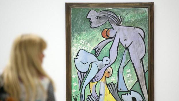 Im geplanten Bilder-Bunker des Solothurner Kunstmuseums sollen Bilder, unter anderem von Pablo Picasso, gelagert werden.