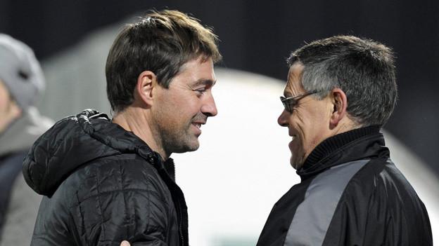 Weiler und Bachmann - auch in der Super League ein Team?