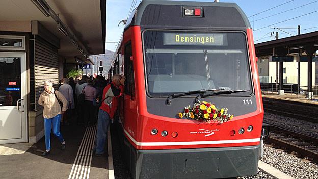 Seit Dezember 2012 fährt das Bipperlisi bis nach Oensingen.