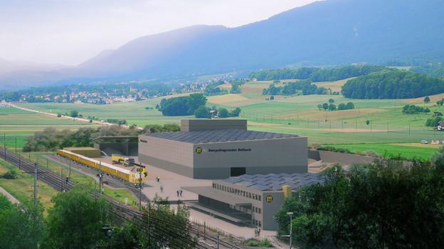 Die Firma Marti will so oder so in Bellach ihre Bodenwaschanlage bauen.