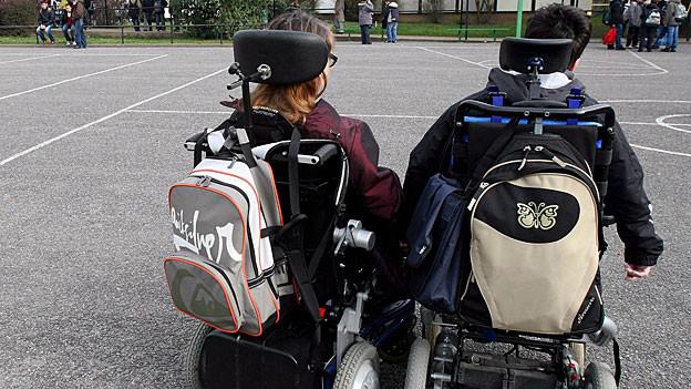 Die zeka, Zentren Körperbehinderte Aargau, brauchen mehr Schulraum in Aarau. Sie kritisieren die zuständigen Behörden.