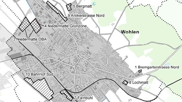Grossratskommission genehmigt Richtplananpassung in Wohlen nur mit Abstrichen.