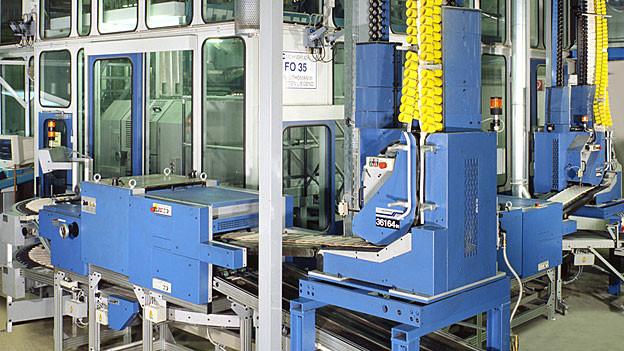 Der Markt für Druckmaschinen wird immer kleiner.