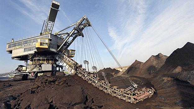 Das Zementwerk Siggenthal verwendet künftig Braunkohle aus Deutschland für die Befeuerung des Ofens.