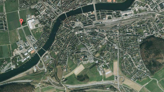 Kanton und Ingenieursgemeinschaft einigen sich wegen Mehrkosten beim Bau des Nordteils der Westumfahrung (Markierung).