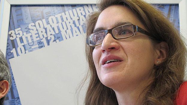Sie geht: Bettina Spoerri als Leiterin der Solothurner Literaturtage