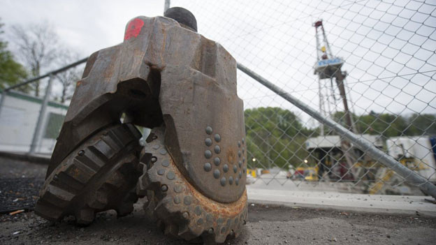 Nach den Erdbeben in St. Gallen stehen die Bohrarbeiten beim Geothermieprojekt still.