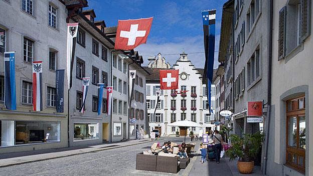 Wer wird regieren im Aarauer Stadthaus? Am 22. September finden die Wahlen statt, ohne Lotty Fehlmann von der SP, sie zieht sich zurück.