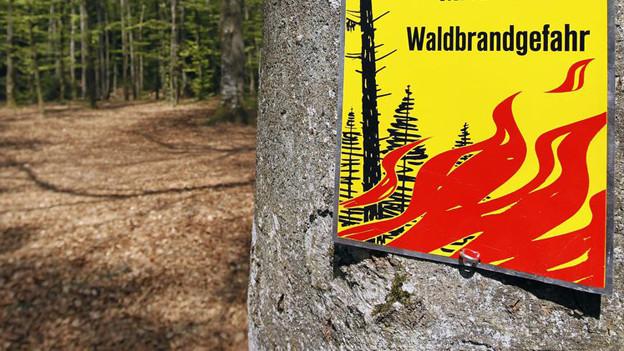 Vorsicht beim Feuern im Freien in den Kantonen Aargau und Solothurn.