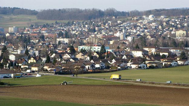 Wohlen hat im Kanton Aargau am meisten Leerwohnungen, nämlich 246.