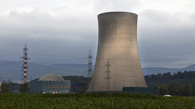 Das Atomkraftwerk Gösgen ist bereits wieder vom Netz. Beim neuen Stromgenerator sind wieder Probleme aufgetreten.