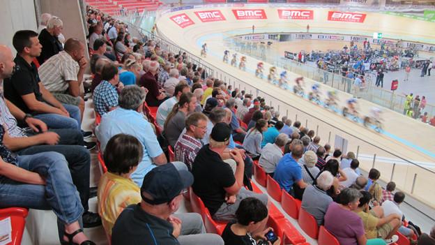 800 bis 1'000 Personen kamen an die ersten Rennen, schätzt die Betriebsleitung.