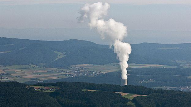 Das AKW Gösgen im August 2012. Vor einem Jahr lief die Stromproduktion im Sommer besser.