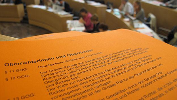 Ein seltenes Ereignis: Im Aargau wurde ein Oberrichter vom Parlament abgewählt.
