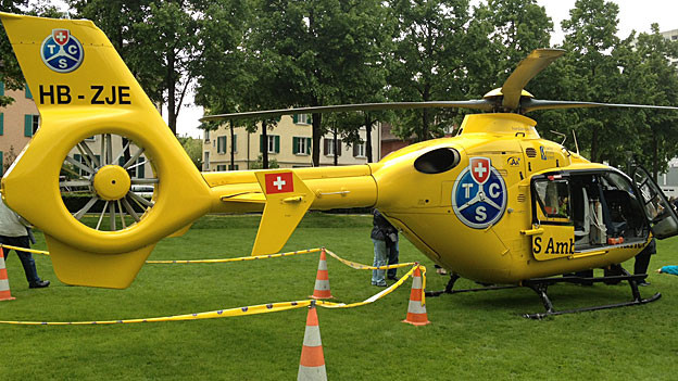 Der Aargauer TCS-Helikopter aus dem Birrfeld soll nun auch im Kanton Solothurn fliegen.