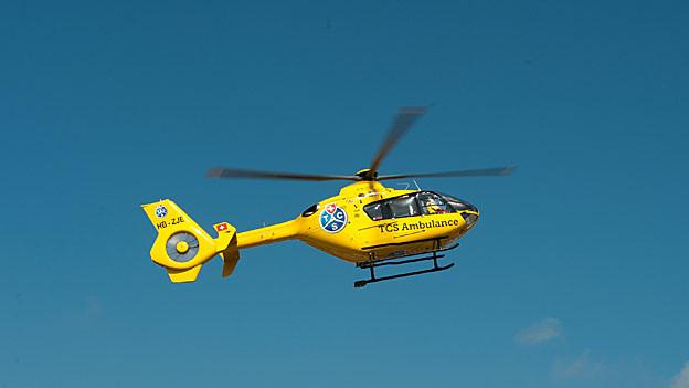 Der TCS-Heli fliegt künftig wohl auch im Kanton Solothurn Rettungseinsätze.