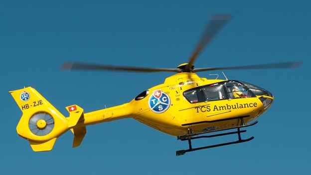 Der TCS will künftig vermehrt Rettungseinsätze fliegen.