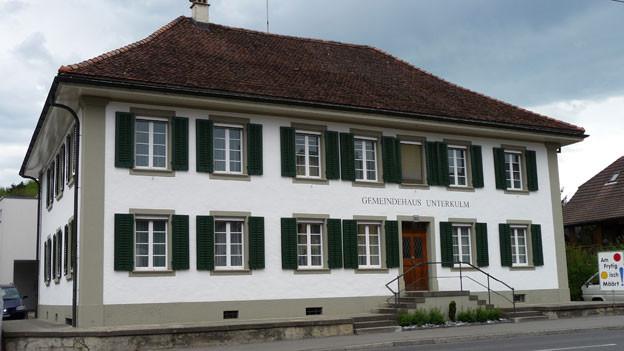 Unterkulm sucht weiter Kandidaten für den Gemeinderat. Im Bild das Gemeindehaus.