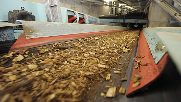 Aus Holzschnitzeln will man in Kaiseraugst Energie gewinnen