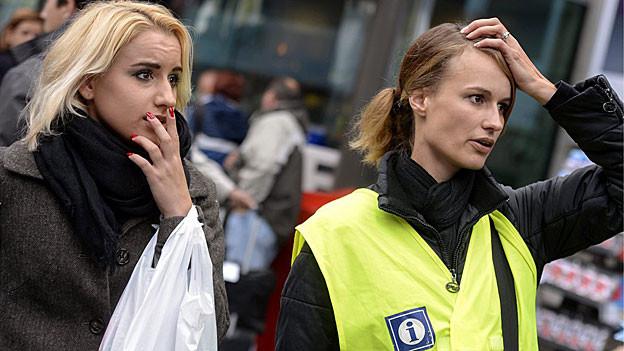 Ratlosigkeit herrschte heute bei Bahnkunden und auch beim Informationspersonal.