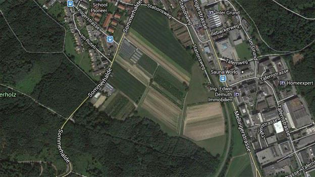 Im «Galgenbuck» darf Baden nun wie geplant wachsen: Der Grosse Rat hat dazu Ja gesagt.