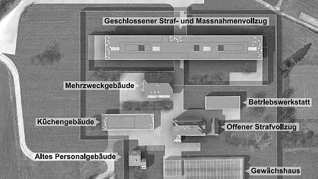 Das neue Gefängnis kostet 60 Millionen. Jetzt läuft die Ausschreibung für die Kunst am Bau.