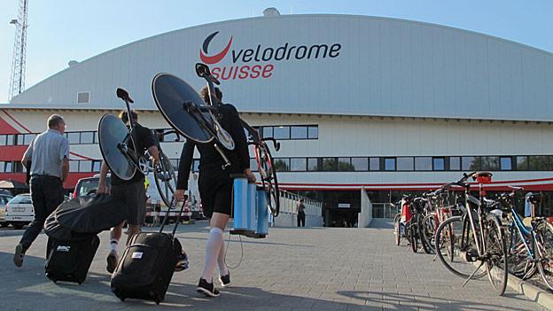 Das Velodrome in Grenchen ist gebaut, aber noch nicht ganz bezahlt: Trotz Geldsegen aus Bern fehlt noch Geld.
