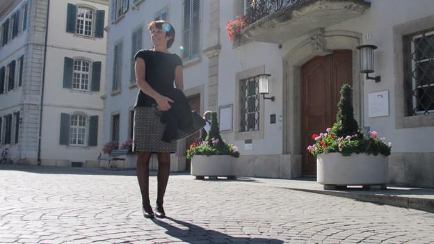 Die neue Aarauer Stadtpräsidentin Jolanda Urech
